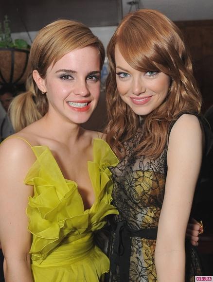 emma watson mtv movie awards after party. hair Emma Watson dress change